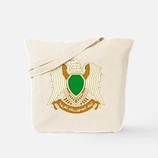 Libya Coat of Arms Tote Bag