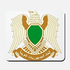 Libya Coat of Arms Mousepad