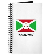 Burundi Flag Journal