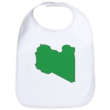 Libya Flag Map Bib
