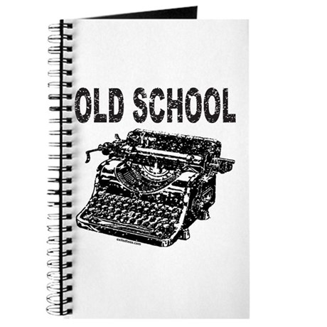 OLD SCHOOL TYPEWRITER Journal