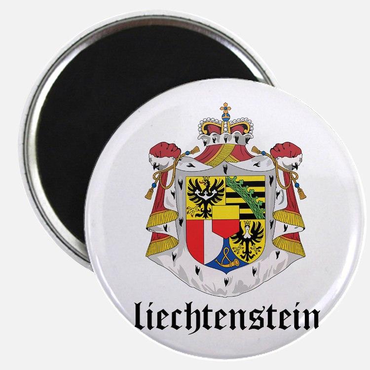 Liechtensteiner Coat of Arms Magnet