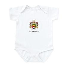 Liechtensteiner Coat of Arms Infant Bodysuit