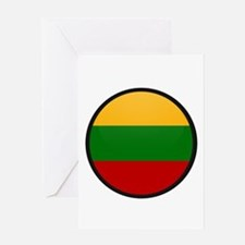 Lithuania Greeting Card