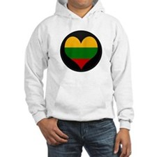 I love Lithuania Flag Hoodie