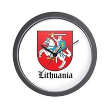 Lithuanian Coat of Arms Seal Wall Clock
