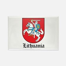 Lithuanian Coat of Arms Seal Rectangle Magnet