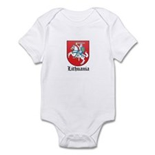 Lithuanian Coat of Arms Seal Infant Bodysuit