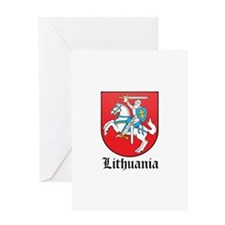 Lithuanian Coat of Arms Seal Greeting Card