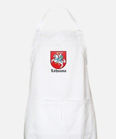 Lithuanian Coat of Arms Seal BBQ Apron