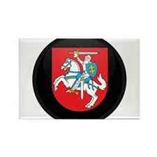 Coat of Arms of Lithuania Rectangle Magnet