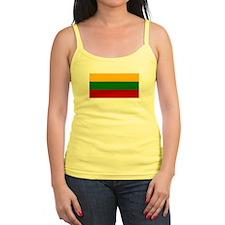 Lithuania Flag Jr.Spaghetti Strap
