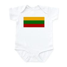 Lithuania Flag Infant Bodysuit