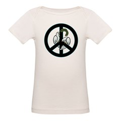 Peace Sign Organic Baby T-Shirt