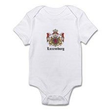 Luxembourger Coat of Arms Sea Infant Bodysuit