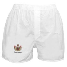 Luxembourger Coat of Arms Sea Boxer Shorts
