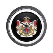 Coat of Arms of LUXEMBOURG Wall Clock