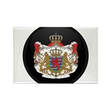 Coat of Arms of LUXEMBOURG Rectangle Magnet
