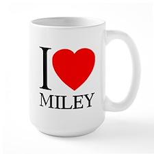 I (Heart) MILEY Mug