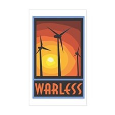 Warless Wind Power Rectangle Decal