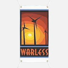 Warless Wind Power Banner