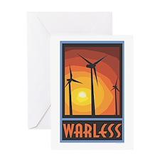 Warless Wind Power Greeting Card