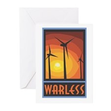 Warless Wind Power Greeting Cards (Pk of 20)