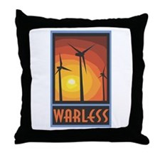 Warless Wind Power Throw Pillow