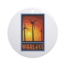 Warless Wind Power Ornament (Round)