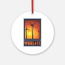 Warless Wind Power Ornament (Round)