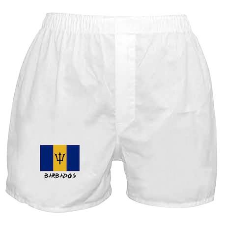 Barbados Flag Boxer Shorts