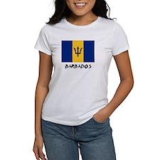 Barbados Flag Tee