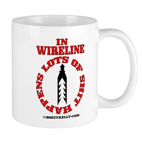 Shit Happens In Wireline Mug