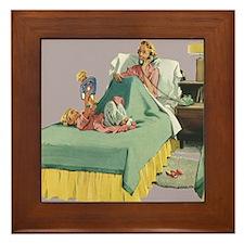 Vintage Mother's Day Framed Tile