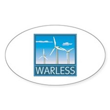 Windpower No War Decal