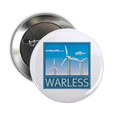 "Windpower No War 2.25"" Button"