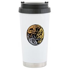 Celtic Chasing Hounds 1 Travel Mug