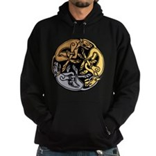 Celtic Chasing Hounds 1 Hoodie