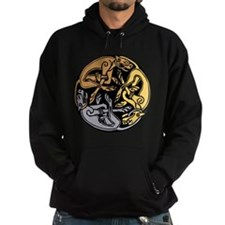 Celtic Chasing Hounds 1 Hoody