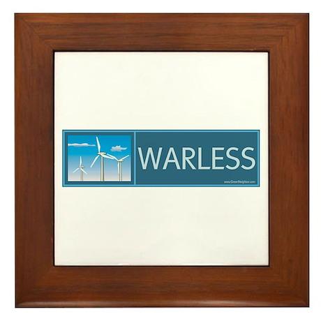 Wind Power Framed Tile
