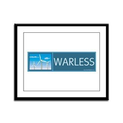 Wind Power Framed Panel Print
