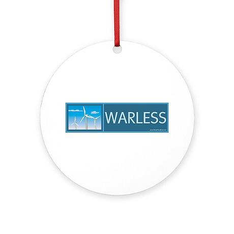 Wind Power Ornament (Round)