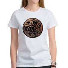 Celtic Chasing Hounds 1c Tee