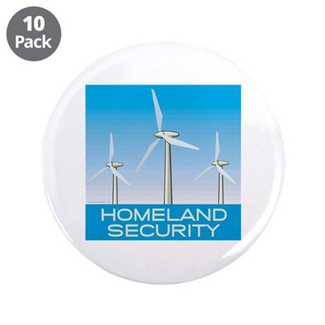 "Wind Power America 3.5"" Button (10 pack)"