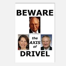 Axis of Drivel Postcards (Package of 8)