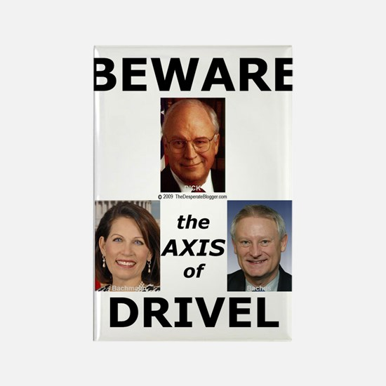 Axis of Drivel Rectangle Magnet