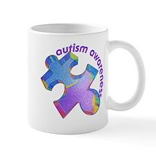 Pastel Autism Puzzle Mug