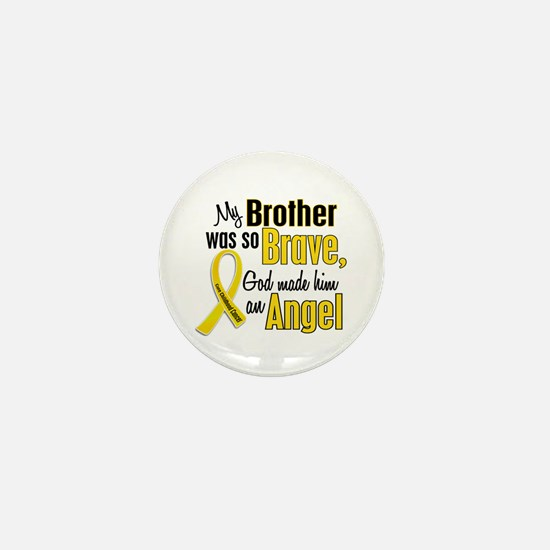 Angel 1 BROTHER Child Cancer Mini Button