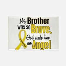 Angel 1 BROTHER Child Cancer Rectangle Magnet