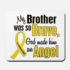 Angel 1 BROTHER Child Cancer Mousepad
